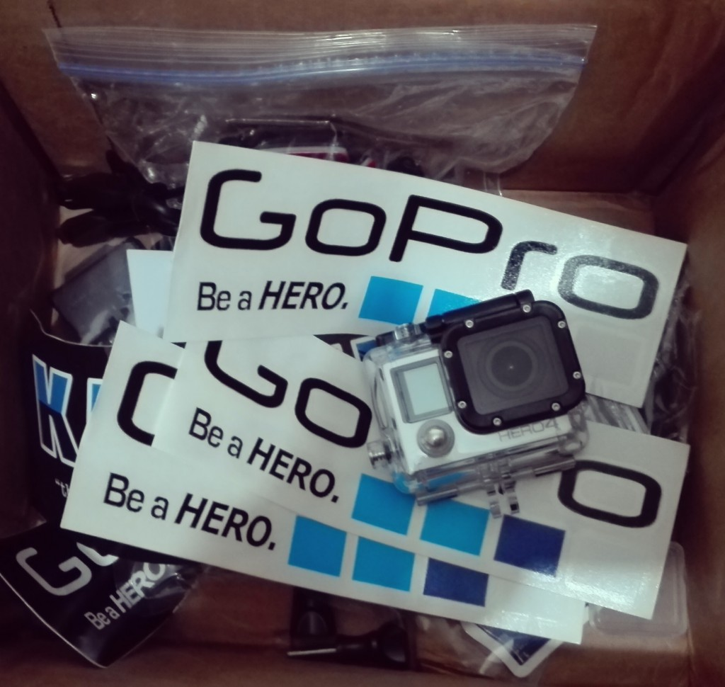 GoPro Hero4 Sliver all the way from GoPro Inc.